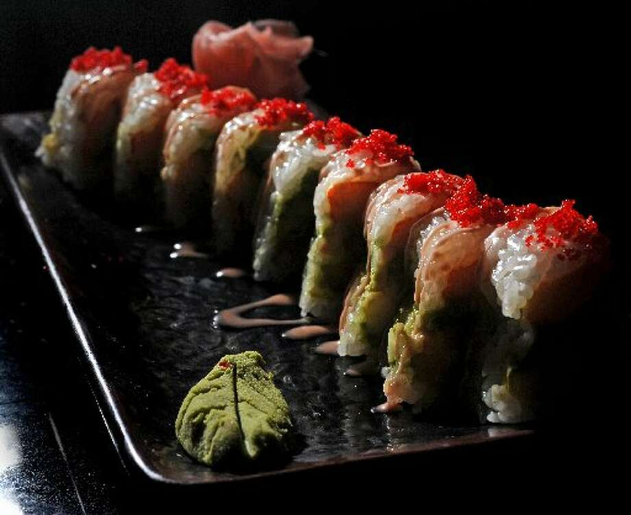 Tokyo's Diva Roll, offered during one of the Sushi 101 courses. Guiseppe Barranco/cat5