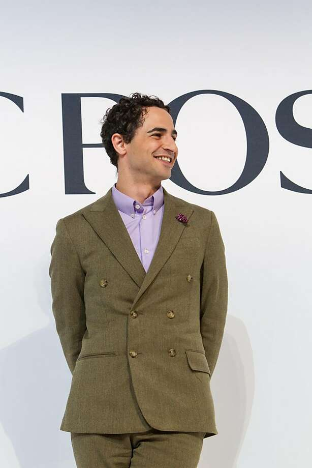 Designer Zac Posen at the San Francisco Ballet Auxiliary Fashion Show on April 26, 2013. Posen's designs were featured on the runway at the annual event. Photo: Drew Altizer Photography