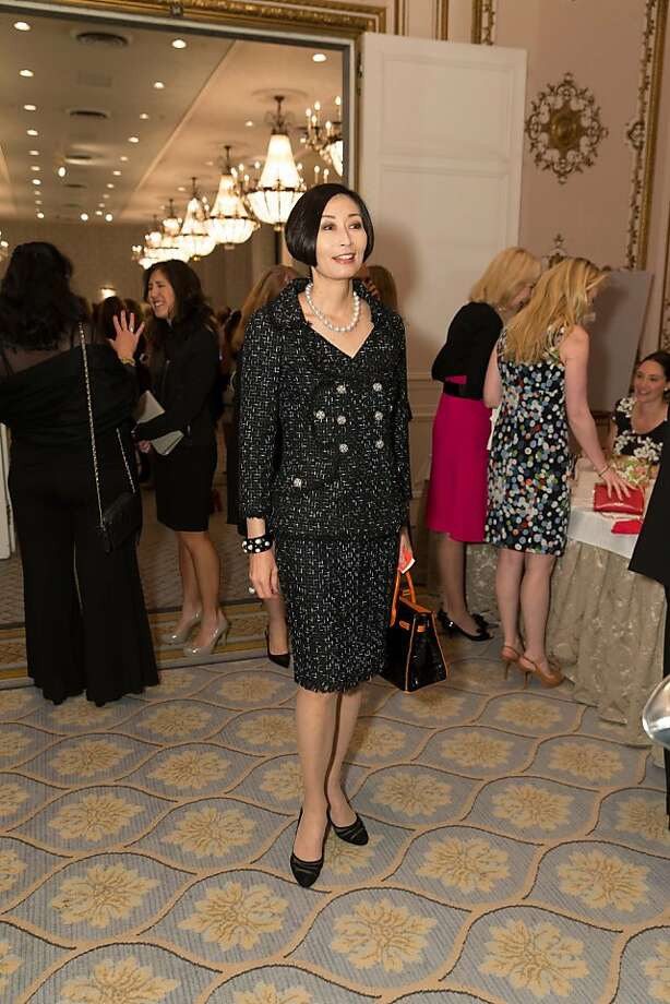 Yurie Pascarella at the San Francisco Ballet Auxiliary Fashion Show on April 26, 2013. Photo: Drew Altizer Photography