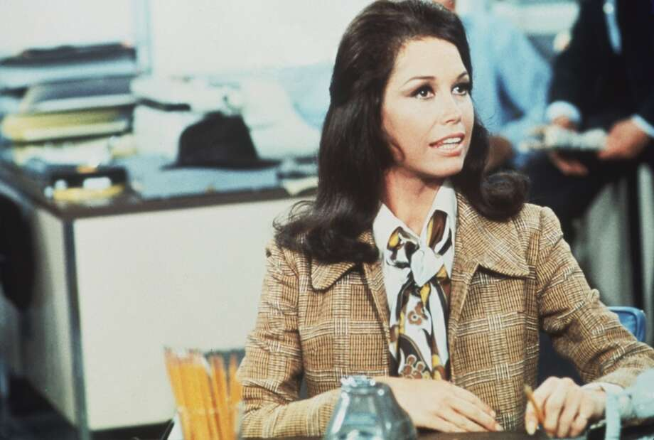 'The Mary Tyler Moore Show': Mary Richards rocked her workwear skirts, tall boots and colorful jackets, but its the moment when she tosses her blue tam in the opening credits that captures her spirit.