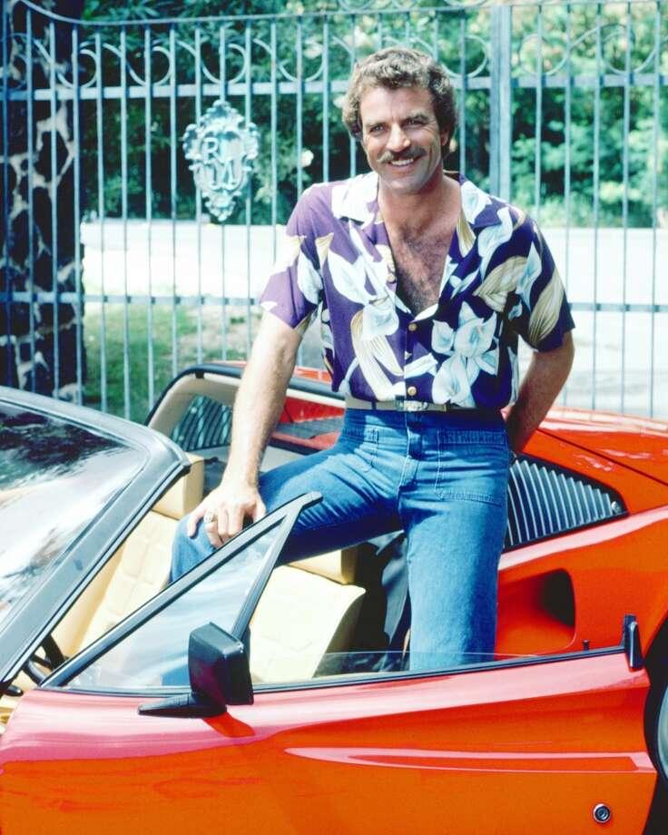 'Magnum, P.I.': Between his signature 'stache and red Ferrari 308, Magnum made the Hawaiian shirt sexy.