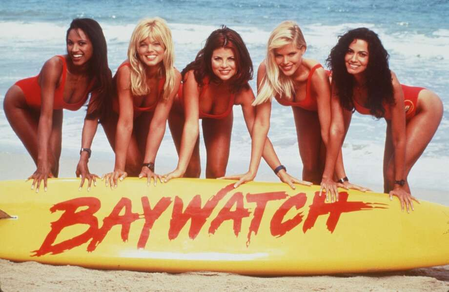 'Baywatch': The red one-piece was just practical lifeguard attire until the 'Baywatch' babes came along.