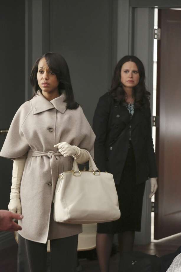'Scandal': As ultra-feminine Olivia Pope, Kerry Washington has viewers coveting the soft looks and designer handbags.