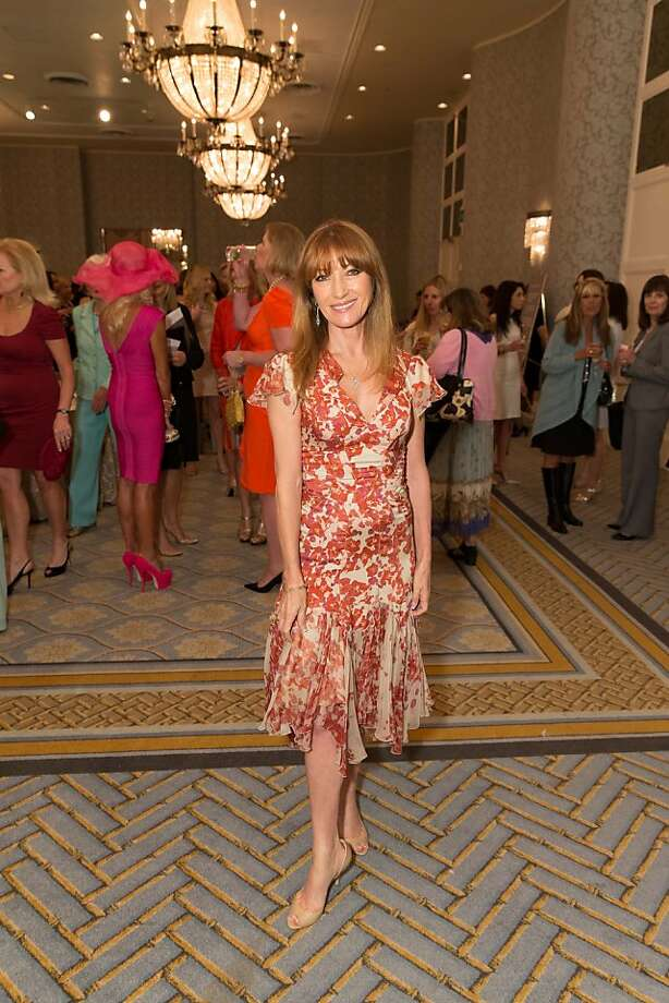 Jane Seymour at the San Francisco Ballet Auxiliary Fashion Show on April 26, 2013. Photo: Drew Altizer Photography