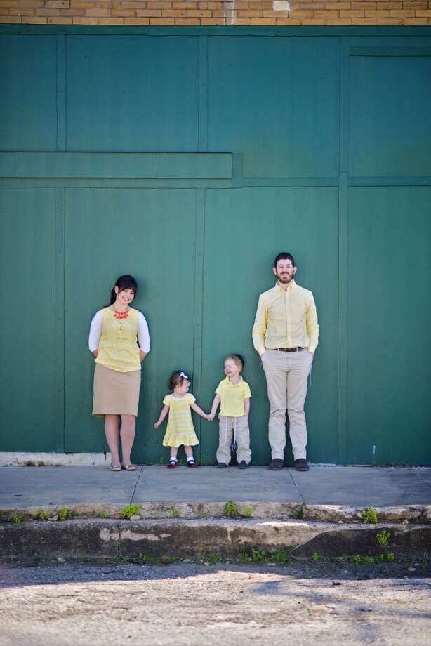 The Shylapobersky family in downtown Richmond. Photo: Elisheva Golani Photography