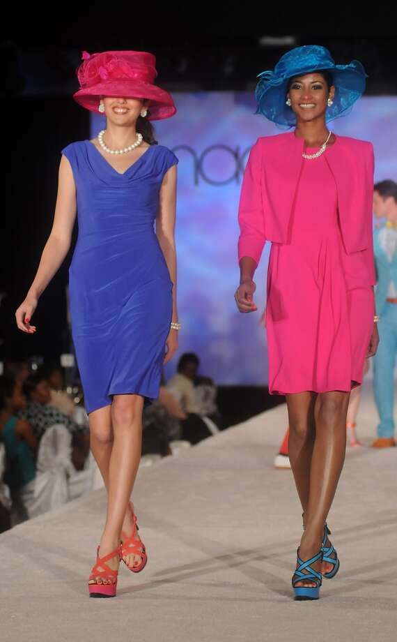 A model walks the runway at the Runway fashion by Macy's. (Dave Rossman photo)