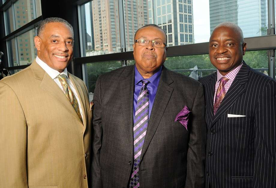 From left: the Rev Kevin Williams, the Rev Dr. Joe Ratliff and Paul Jefferson