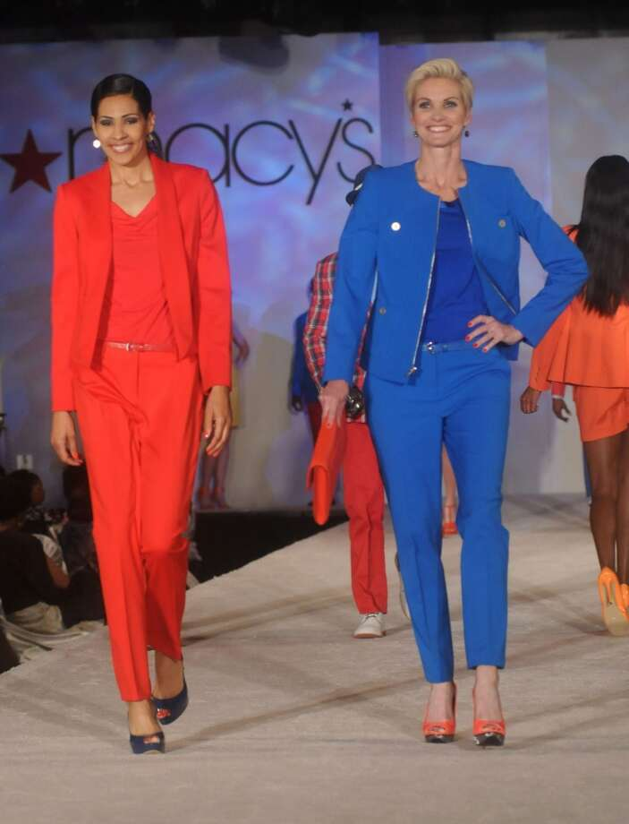 Runway fashion by Macy's. (Dave Rossman photo)