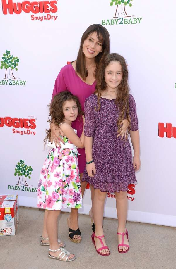 LOS ANGELES, CA - APRIL 27:  Actress Soleil Moon Frye and daughters Poet Sienna Rose Goldberg (R) and Jagger Joseph Blue Goldberg (L)  attends the Huggies Snug & Dry and Baby2Baby Mother's Day Garden Party held on April 27, 2013 in Los Angeles, California.  (Photo by Jason Merritt/Getty Images for Baby2Baby)