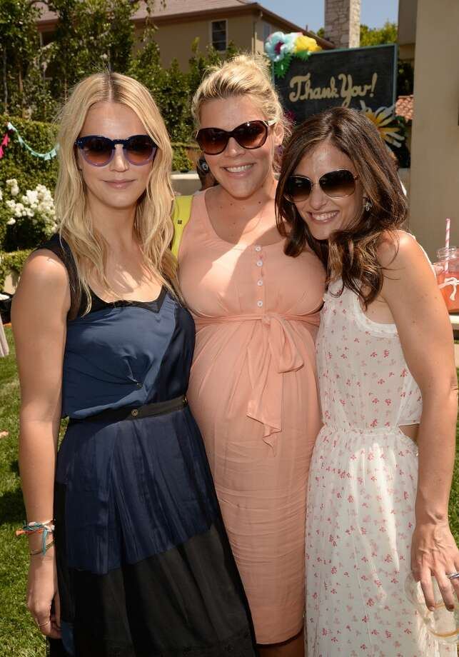 LOS ANGELES, CA - APRIL 27:  Kelly Sawyer Patricof, Busy Philipps, and Norah Weinstein attend the Huggies Snug & Dry and Baby2Baby Mother's Day Garden Party held on April 27, 2013 in Los Angeles, California.  (Photo by Jason Merritt/Getty Images for Baby2Baby)