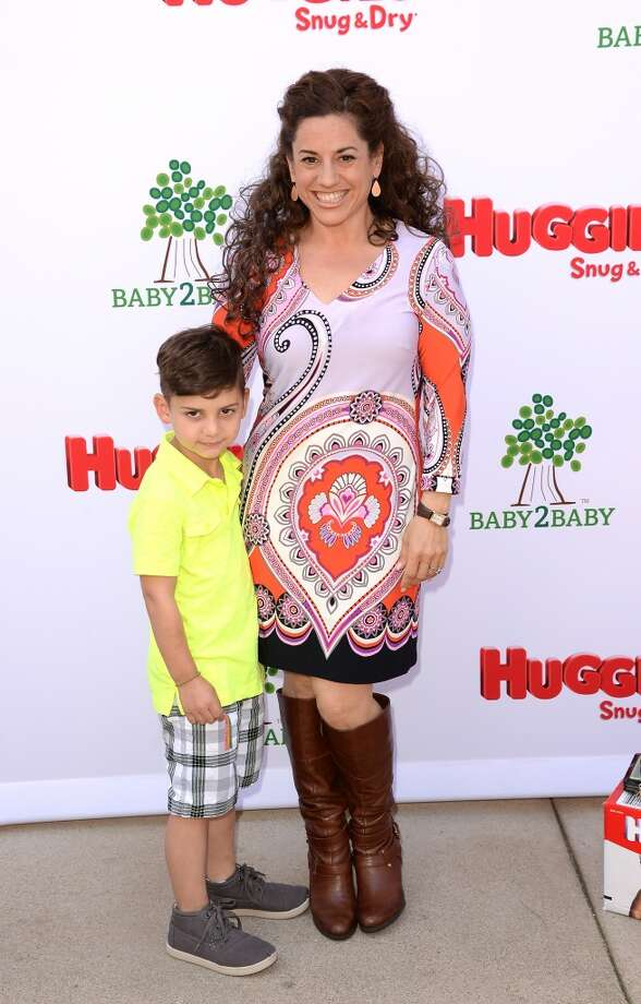 LOS ANGELES, CA - APRIL 27:  Actress Marissa Jaret Winokur attends the Huggies Snug & Dry and Baby2Baby Mother's Day Garden Party held on April 27, 2013 in Los Angeles, California.  (Photo by Jason Merritt/Getty Images for Baby2Baby)