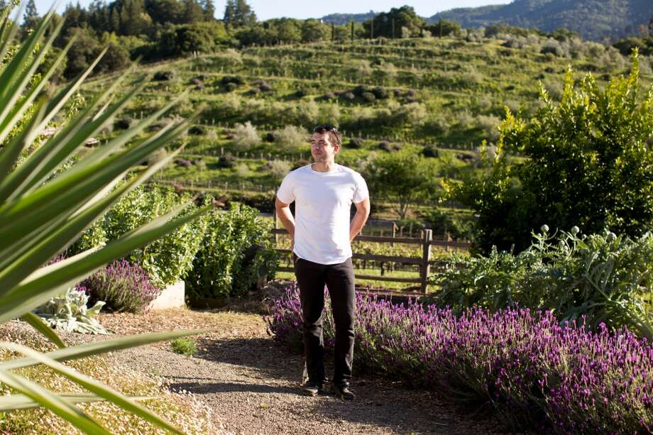 Glen Ellen Star: Ari Weiswasser sources some of the fresh ingredients on the Glen Ellen Star menu from a biodynamic garden at Benziger Family Winery, owned by his father-in-law