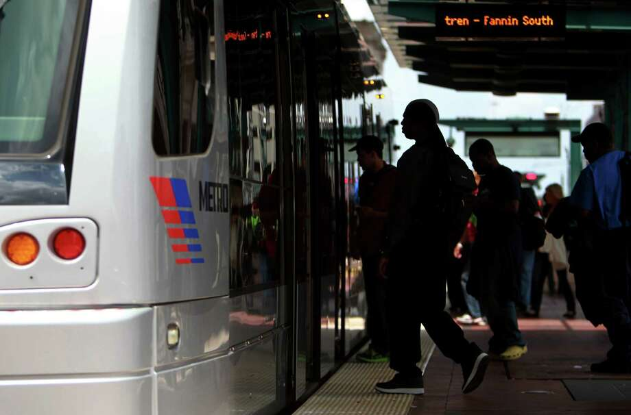 METRO is looking for ways to enforce fare payment on the Light Rail now that it will open three new lines next year on Monday, April 29, 2013, in Houston.  ( Mayra Beltran / Houston Chronicle ) Photo: Mayra Beltran, Staff / © 2013 Houston Chronicle