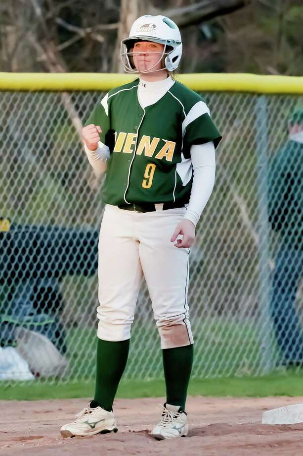Troy High graduate Shannon Jones of Siena softball. (Siena sports information)