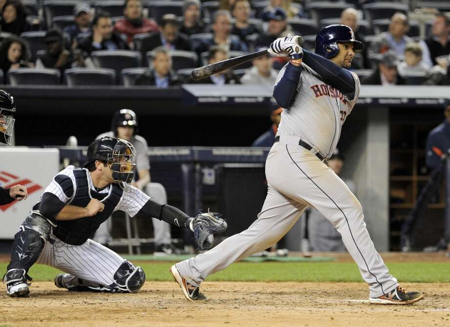 April 29: Astros 9, Yankees 1  Houston emerged from its four-game losing streak with a blowout in New York.  Record: 8-18. Photo: Bill Kostroun, Associated Press