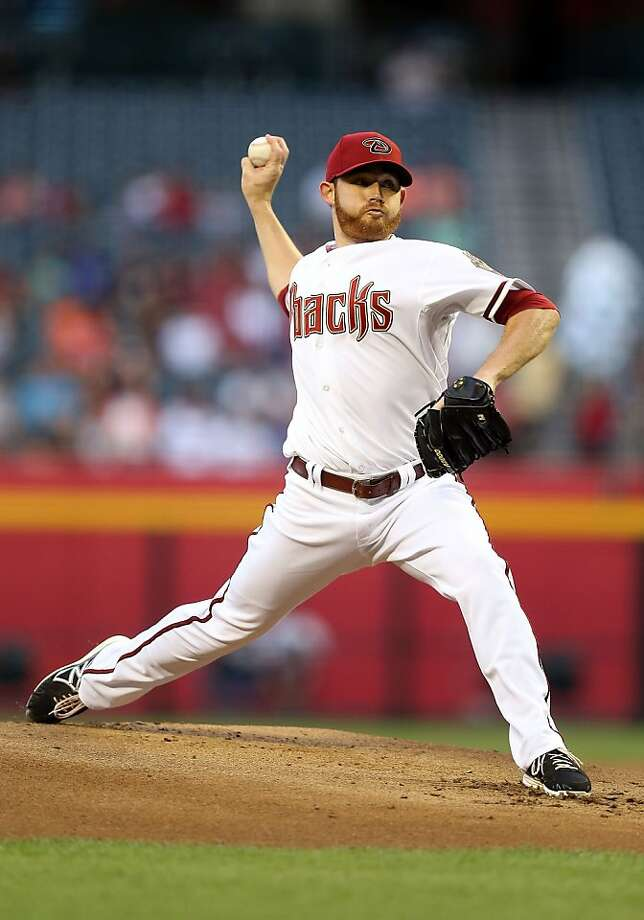 PHOENIX, AZ - APRIL 29:  Starting pitcher Ian Kennedy #31 of the Arizona Diamondbacks pitches against the San Francisco Giants during the MLB game at Chase Field on April 29, 2013 in Phoenix, Arizona.  (Photo by Christian Petersen/Getty Images) Photo: Christian Petersen, Getty Images