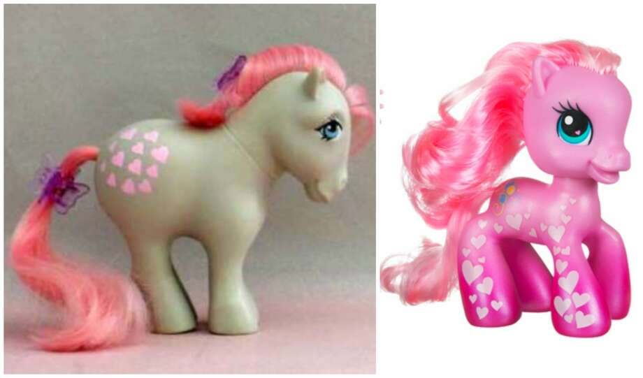 My Little Pony:After a few nips and tucks, and a little Botox here and there, every girl's favorite little pony came out of the pen with a prettier look and ready to prance.