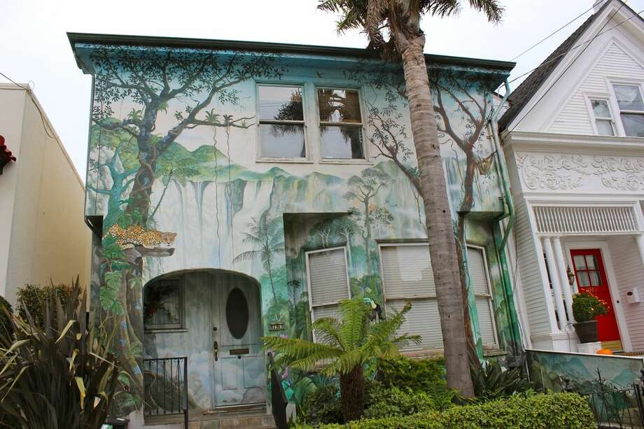 "3. The Jungle House: a wee bit like a page from ""Where the Wild Things Are."" Neighborhood: Noe Valley (Church between 22nd and 23rd Streets). Photo via Alexandra Kenin, Urban Hiker SF"
