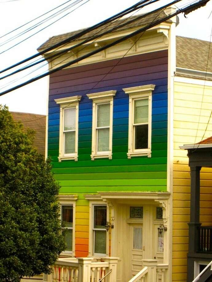 6. The Rainbow House: Celebrating SF's history of gay rights 24-7. Neighborhood: Noe Valley  (Clipper between Douglass and Diamond).  Photo via Alexandra Kenin, Urban Hiker SF