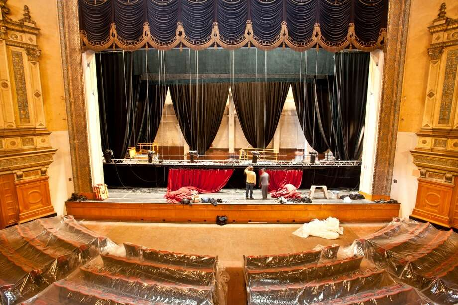 The Nourse Auditorium, seen on Jan. 16, 2013, housed in the former Commerce High School site has been transformed into the new home of City Arts & Lectures.