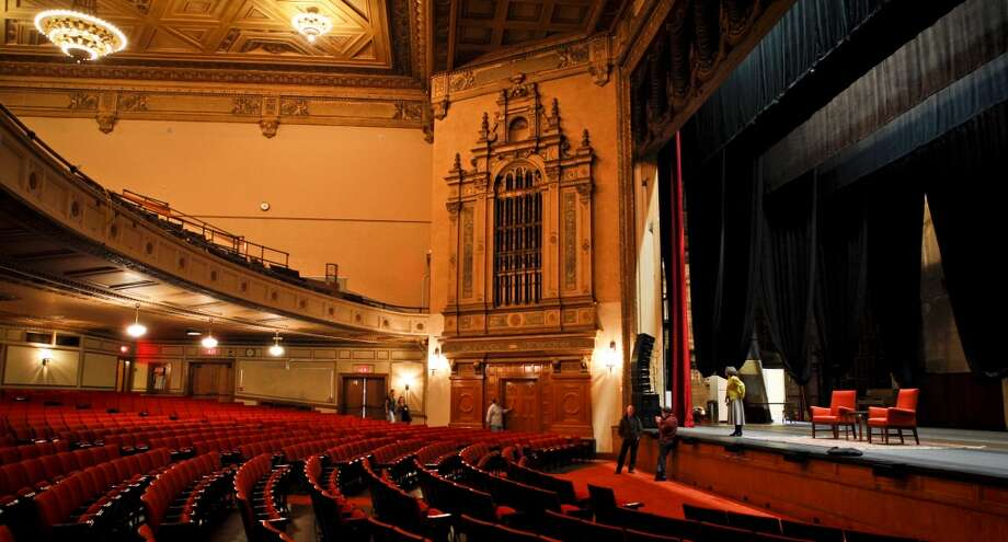 The Nourse Theater which was formerly the Commerce High School auditorium is seen on Thursday, April 4, 2013 in San Francisco, Calif.  City Arts &Lectures will be using the space while its current venue, the Herbst Theater, is closed for seismic upgrades.