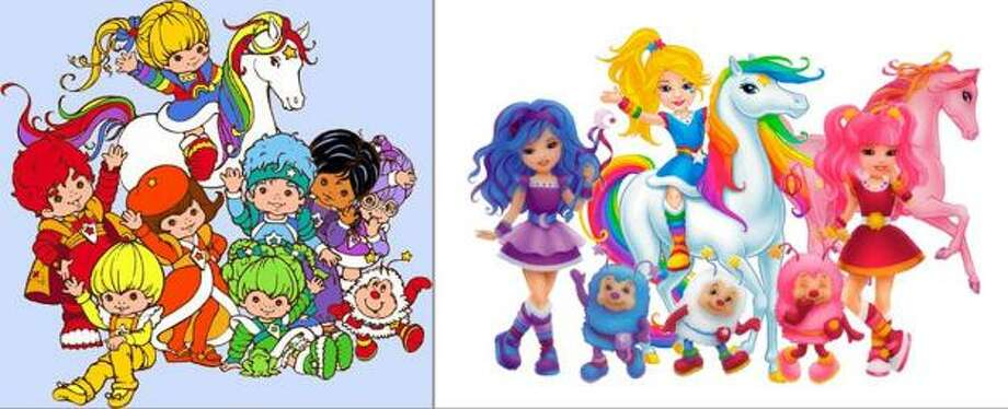 Rainbow Brite and Friends:The originals were cute and cuddly; the new pack would fit in at Burning Man.