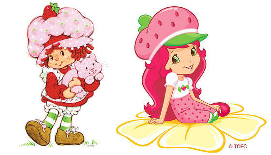 Strawberry Shortcake:the original humble gal meets the new tweeny tart.