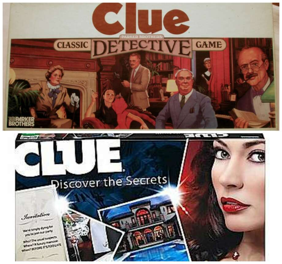 Clue:A sexy-looking woman with cherry red lipstick appears on the front of the latest edition of Hasbro's Clue board game.
