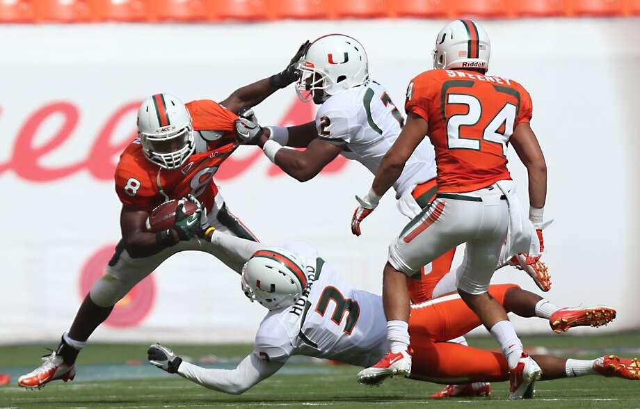 Duke JohnsonMiami running back12/1 odds Photo: Gregory Castillo, Associated Press / The Miami Herald