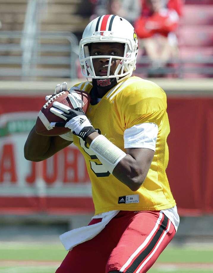 Teddy Bridgewater Louisville quarterback 12/1 odds Photo: Timothy D. Easley, Associated Press / FR43398 AP