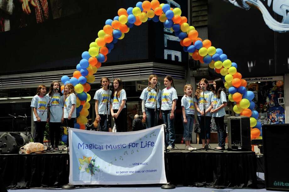 "The New Canaan-based nonprofit foundation, Magical Music for Life, will be presenting its second annual ""Tunes in Times Square"" benefit concert on Sunday, May 5, on the Broadway Pedestrian Plaza in New York City. Photo: Contributed"
