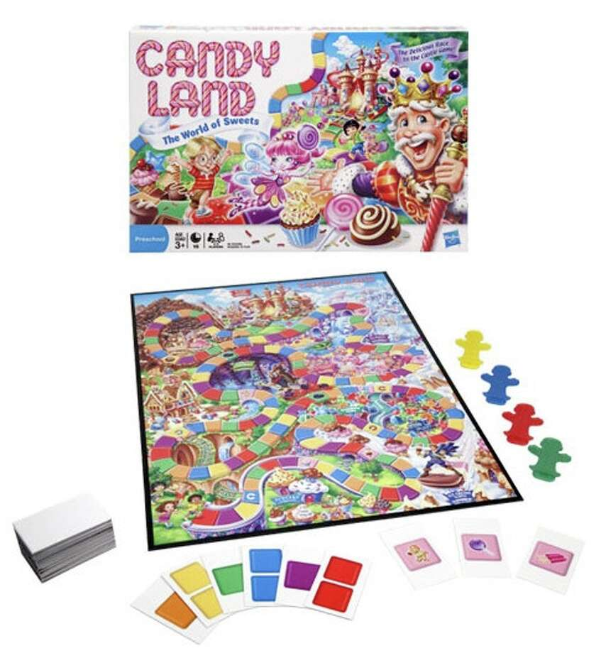 The latest, 2010, version of Candy Land