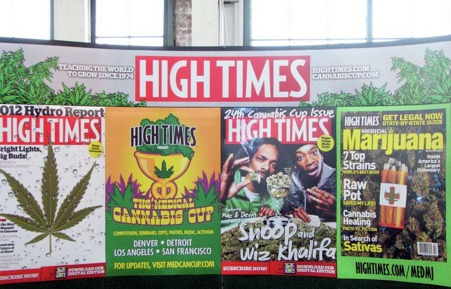 Thrity-seven year-old 'High Times' is a cannabis institution. Photo: David Downs