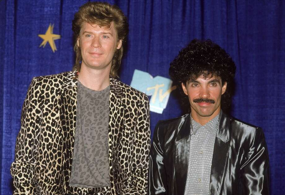 Had big hair.  