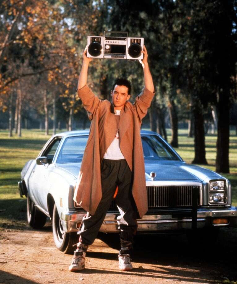 And Lloyd Dobler (John Cusack) was super-cute in this movie.   (''Say Anything,'' 1989).