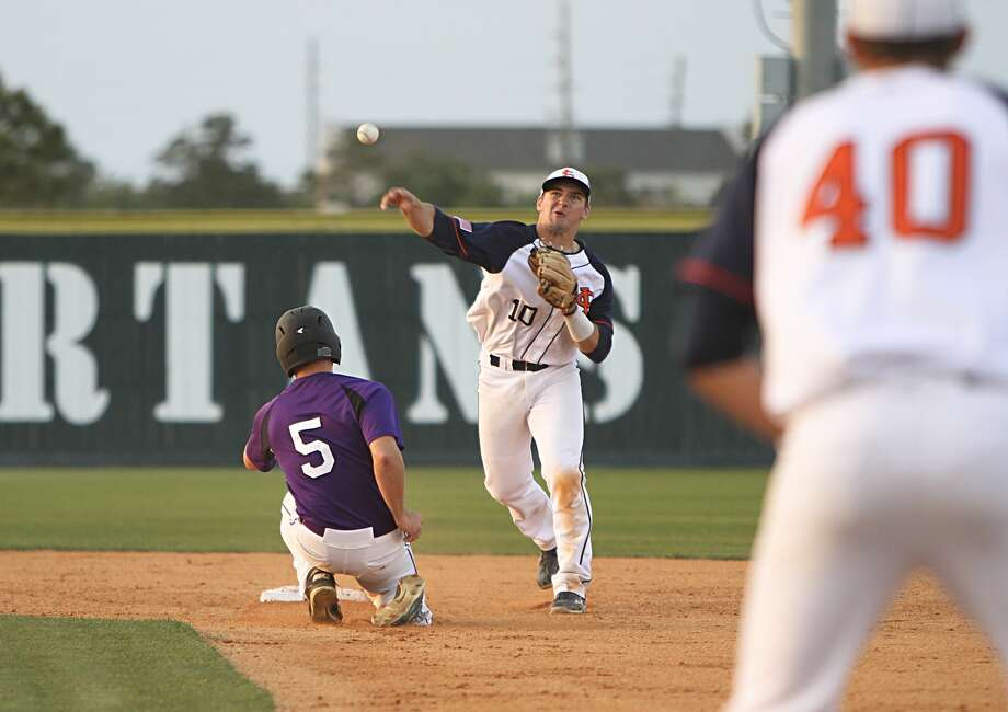Seven Lakes graduate Ryne Birk continues the long line of Spartans to represent the school at the Texas High School Baseball Coaches Association 4A-5A All-Star Game. Photo: Diana L. Porter, Freelance / © Diana L. Porter