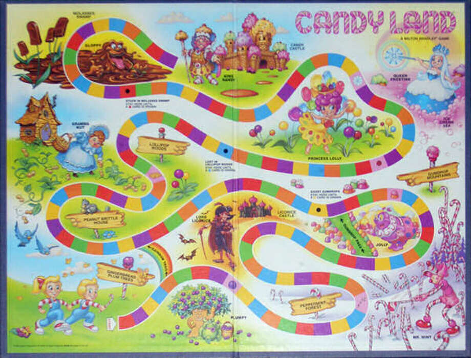1990s version of Candy Land