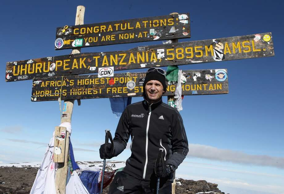 6. Climb Mt. Kilimanjaro. In September 2010, Spanish mountain runner Kilian Jornet ran to the 5895-meter summit in 5 hours 23 minutes and 50 seconds.