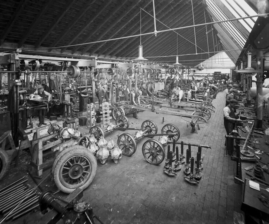 3. Build a car. Henry Ford's Model T assembly line cranked out the world's most popular car in less than six hours.