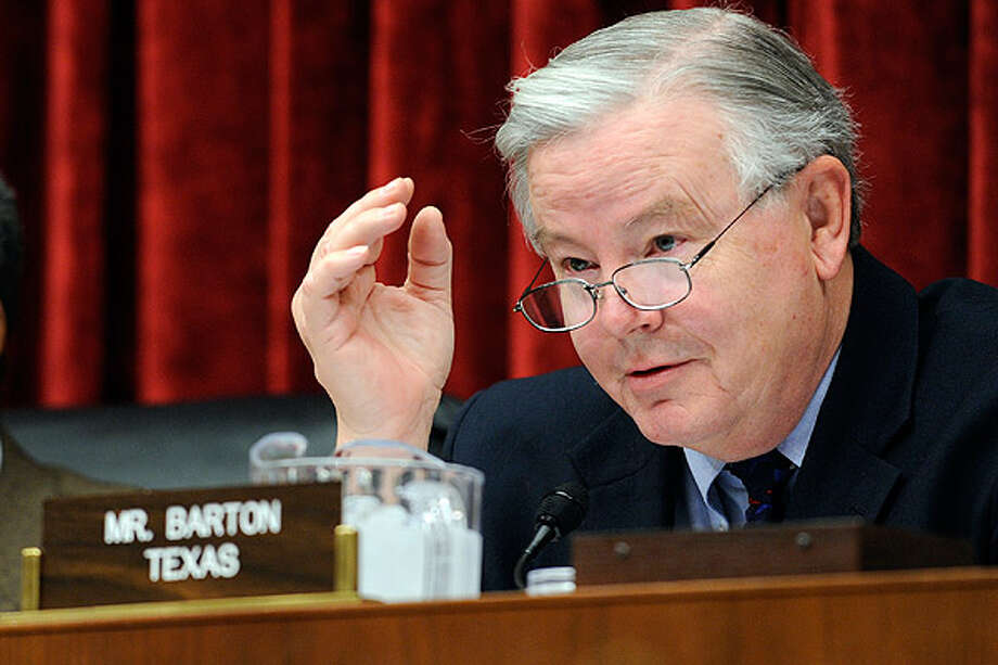 Joe Barton – R-Ennis  Top contributor: Pickens Company $5,200 — an oil and gas company  Top Sector: Oil/Gas/Energy $42,450  (AP Photo)