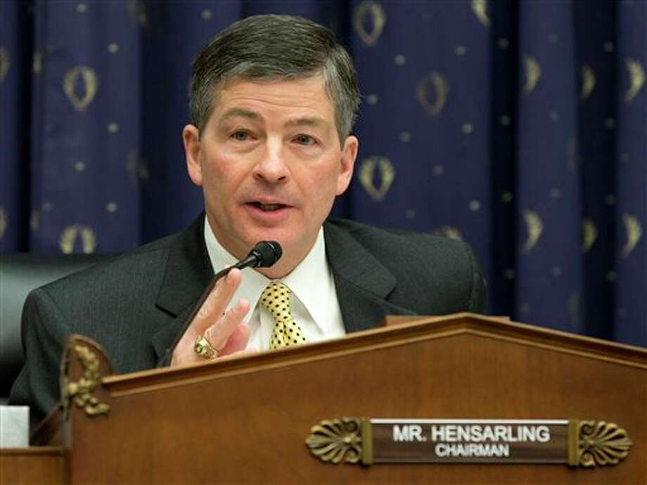 Jeb Hensarling – R-Dallas  Top Contributor: Quantlab Financial $7,500  Top Sector: Investments/Banks $271,050 Photo: Carolyn Kaster, AP / AP