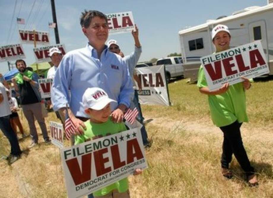 Filemon Vela – D-Brownsville  Top Contributor: Ogilvy Government Relations $3,000 (lobbying firm)  Top Sector: Healthcare/Insurance $12,500  (AP photo)