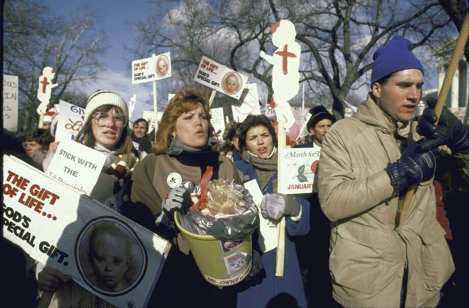 1985:  Anti-abortion march on Washington. Photo: Cynthia Johnson, Getty Images / Cynthia Johnson