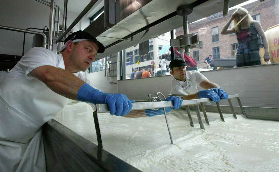 19. Savor Seattle Food Tours, Seattle. This photo shows cheese making at Beecher's Handmade Cheese, in Pike Place Market. Photo: Karen Ducey, The Seattle PI