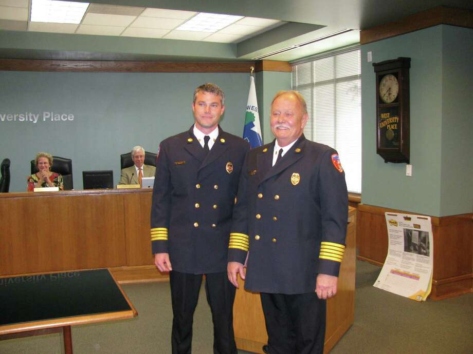 West U's new fire chief, Aaron Taylor Photo: Handout