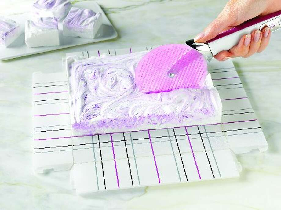 Check out this slideshow to see the newest gadgets for your kitchen.Who knew marshmallows were the next big thing? Chicago Metallic did, rolling out a new Marshmallow Collection of tools for the home chef to cut, coat, paint and stamp home-made marshmallows.