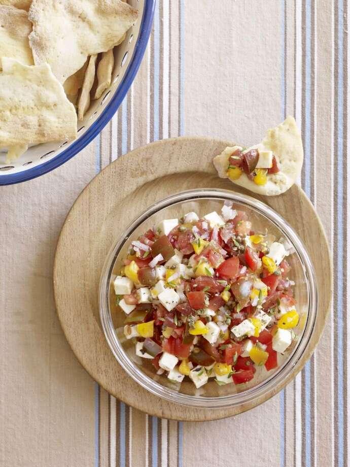 Country Living recipe for Chunky Tomato Salsa. Photo: Kana Okada