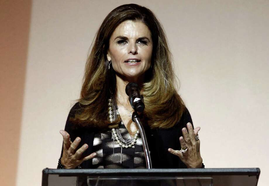 FILE - This May 1, 2012 file photo shows Maria Shriver speaking at the 7th Annual MOCA Award to Distinguished Women in the Arts luncheon in Beverly Hills, Calif. NBC announced announced on Tuesday, April 30, 2013, that Shriver will join the network as a special anchor working on issues surrounding the shifting roles of women in American life. (AP Photo/Matt Sayles, file) Photo: Matt Sayles