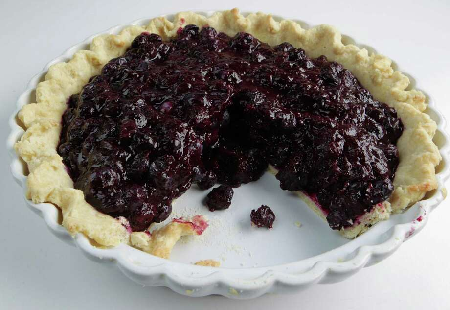 Chilean blueberry tart. Photo: James Nielsen, Staff / © 2013 Houston Chronicle