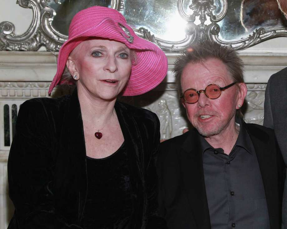 NEW YORK, NY - APRIL 23:  Judy Collins and Paul Williams attend Cafe Carlyle on April 23, 2013 in New York City. Photo: Taylor Hill, Getty Images / 2013 Getty Images